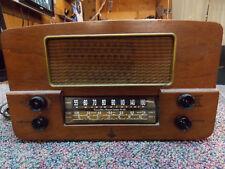 Emerson  #607 Series(wood) Tube Vintage Radio Receiver for repair or restoration