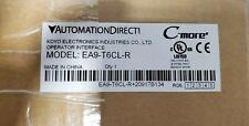 AUTOMATION DIRECT EA9-T6CL-R HMI C-More TOUCHSCREEN PANEL