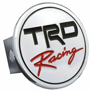 """TRD Racing Chrome Stainless Steel 2"""" Trailer Tow Hitch Cover"""