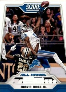 A8999- 2018 Score Football Insert +Parallel Cards -You Pick- 10+ FREE US SHIP