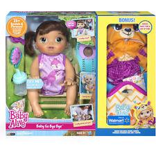 Baby Alive Baby Go Bye Bye (Brunette) Exclusive Value Bundle