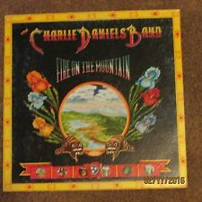 "LP Record Album 33 RPM 12"" The Charlie Daniels Band Fire On The Mountain"