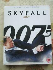007 JAMES BOND SKYFALL 2012 FILM STARRING DANIEL CRAIG BLU-RAY + DVD REGION B UK