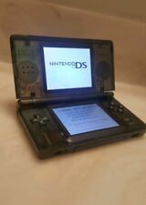 Nintendo DS Lite console New CLEAR Black shell with charger