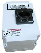 Elimia 3 Phase Disconnect Switch DS100LC Compact NEMA 4X 100 Amp 230 480V  50 HP