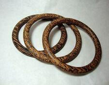 1 Pcs. Thai Handcraft Wood Retro Bangle Bracelets Gift