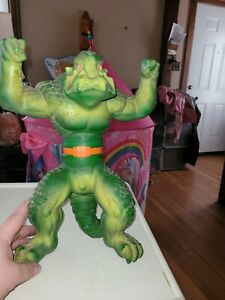 """1979 MATTEL KRUSHER MONSTER ENEMY OF STRETCH ARMSTRONG NICE 14"""" asis"""
