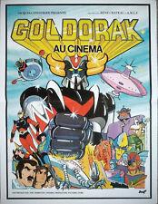 GOLDORAK Ufo Robot Grendize Affiche Cinema PLIEE 53x40 Movie Poster Retirage 90