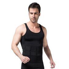Mens Slimming Shapewear Vest Singlet - Tighten Tone Lose Weight - AUS POST
