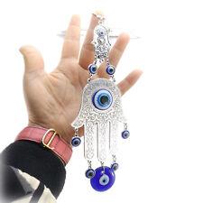 Turkey Blue Evil Eye Amulet Car Or Wall Hanging Decoration Hamsa Hand Charm