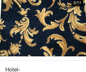 Hotel-Spielhallen,Teppichboden Casino Ranke Blau, aus Köln, B1 geeignet!!!