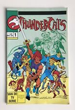 THUNDERCATS COMIC DUTCH #1  TELEPICTURES / OTTO SIMON 1989 RARE FIRST ISSUE