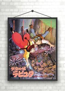 Tenku no shiro rapyuta Anime Classic Large Movie Poster Print A0 A1 A2 A3 A4