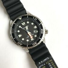 Citizen Promaster Diver Watch * BN0150-28E EcoDrive Black Resin Solar Japan Made