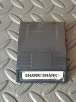 SHAR SHARK FOR INTELLIVISION WHITE LABEL VINTAGE GAME GOOD CONDITION