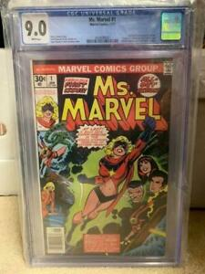 Ms. Marvel #1 GCC 9.0 - First Appearance of Carol Danvers as Ms. Marvel