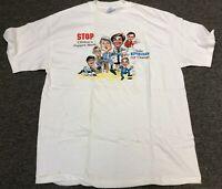 Vintage NEW 1994 Bill Clinton Republican Change Political Election Tee Shirt L