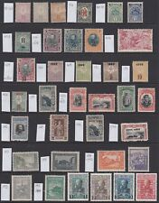 Bulgaria 1889-1918 MINT selection between sg51 to 199 mixed conditions (36v)