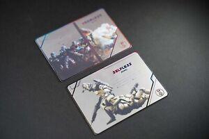 x-wing miniatures 2.0 Metal Alt-Art Promo Card