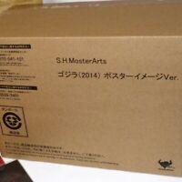 Bandai S.H.MonsterArts GODZILLA 2014 Poster Image Ver. Figure from Japan