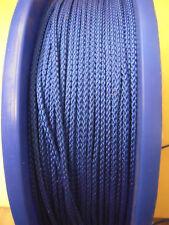 5 m PP-Seile Leinen Seil Schnur Reepschnur 3 mm 8-Fach geflochten Blau  0,20€/m
