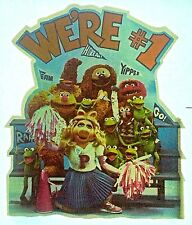 Vintage 70s Muppets We're #1! Iron-On Transfer Cartoon Super RARE!