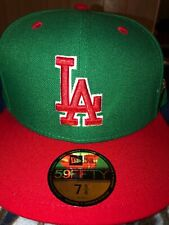 MLB Los Angeles Dodgers Fitted Hat 7 5/8 New Era Cap