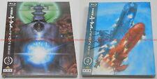 Star Blazers Space Battleship Yamato 2202 Warriors of Love Vol.3 & Vol.4 Blu-ray