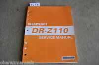 2003 SUZUKI DR-Z110 Service Manual OEM