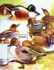 Congo ~~~birds -  Waterfowls, Ducks ~~~ M/S MNH