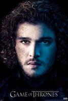 GAME OF THRONES POSTER ~ JON PORTRAIT S3 24x36 TV Snow Kit Harrington HBO