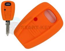 Fiat Key Silicone Case Cover Punto Marea Bravo Stilo Ducato Orange