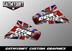 FOR CCM R604 TANK GRAPHICS DECALS SUPERMOTO MX MOTOCROSS STICKERS