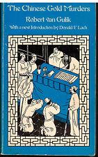 The Chinese Gold Murders by Robert H. Van Gulik (1977, Paperback)