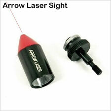 Tactical Red Laser Sight Arrow Laser Red Dot Bore Sight Hunting Laser Scope