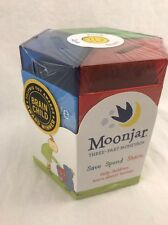 Classic Moonjar Moneybox Bank Save Share Spend! FAST USA SHIPPING! kids bank
