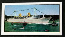 MS GRIPSHOLM    Swedish American Line       Vintage Colour Card  # VGC