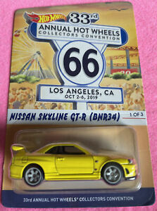 Hot Wheels 33rd Collectors Convention. Nissan Skyline GT-R (BNR34) Only 5000!!