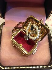 NWT 2006 JUICY COUTURE JEWELRY CHEST CHARM YJRU1065 RARE!