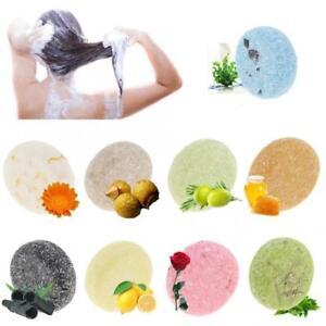 9x Natural Handmade Shampoo Bar Against Hair Loss Conditioning Shampoo Soap