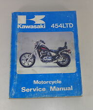 Officina Manuale/Workshop Manual Kawasaki 454 Ltd, da 1984