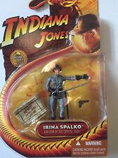 "Indiana Jones Action Figure of IRINA SPALKO From The Crystal Skull 3.75"" Tall"