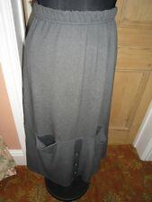 Eva Tralala Falda, artículo de calidad, hecho en Francia, tamaño 2, la rodilla, Viscosa