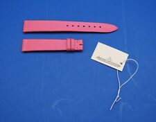 "JAEGER LECOULTRE OEM ""SATIN"" LIGHT PINK WATCH STRAP 14 mm ""O-J"" NEW"