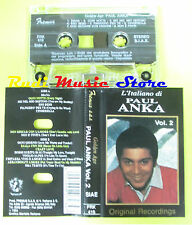 MC L'italiano di PAUL ANKA vol.2 1993 GOLDEN AGE italy FREMUS no cd lp dvd vhs