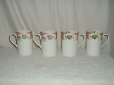 4 Royal Albert Bone China Lady Carlyle Java Mugs/Beakers NEW