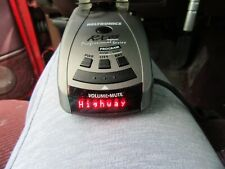 BELTRONICS PROFESSIONAL RX65 SERIES RADAR/LASER DETECTOR GRAY RED DISPLAY