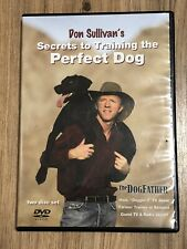 Don Sullivan Secrets to Train The Perfect Dog, 2 DVDs The Dogfather