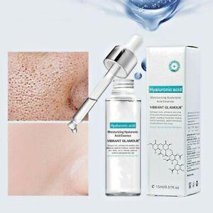 Hyaluronic Acid Face Serum Anti-Aging Shrink Pore Whitening Moisturizing Essence
