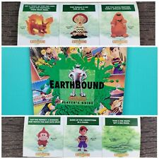 Earthbound Player's Guide w/ All Scratch-and-Sniff Stickers Intact ~ Rare